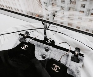 chanel, city, and style image