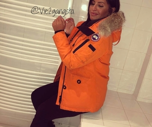 orange, outfit, and ugg image