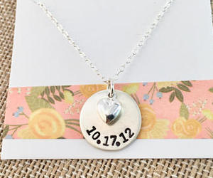 etsy, infinity, and mom necklace image