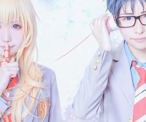 anime, cosplay, and your lie in april image