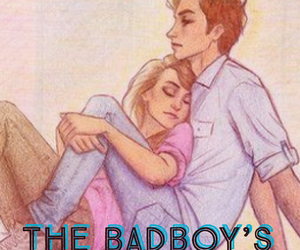 book cover and bad boy's girl. image