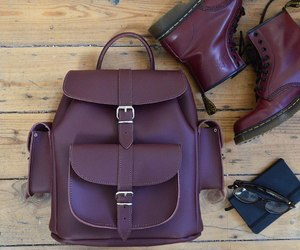 backpack, boots, and dr. martens image