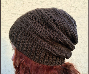 etsy, slouchy hat, and winter beanie image