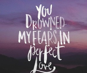 love, god, and fear image