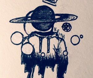 astronomy, blackandwhite, and drawing image