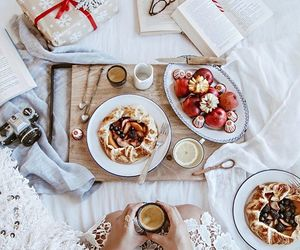 food, breakfast, and christmas image