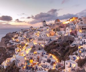 Greece, lights, and photography image