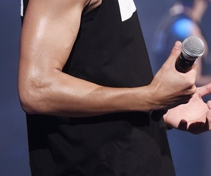 exo, chanyeol, and arms image