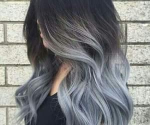 cabelo, garota, and hairs image