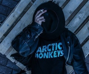 arctic monkeys, band, and cigarette image