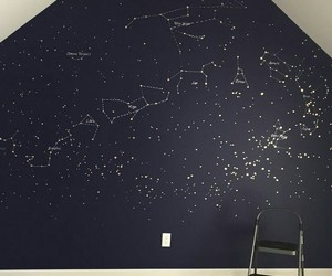 constellation, decoration, and stars image