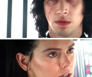star wars, adam driver, and love image