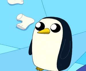 at, adventure time, and gunter image
