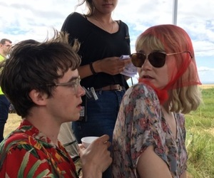 jessica barden, alex lawther, and james image