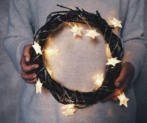 light, stars, and inspiration image