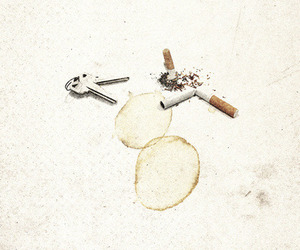 cover, cigarettes, and grunge image