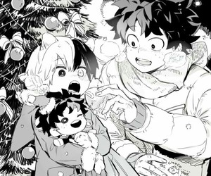 anime, christmas, and manga image