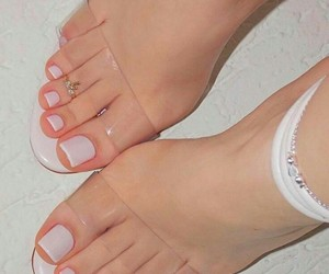 gorgeous, nails, and feet nails image