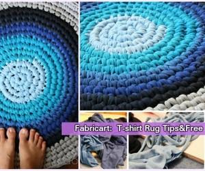 crochet and area rug image
