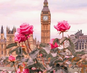 london and roses image