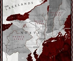 red queen, map, and victoria aveyard image