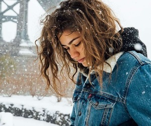 zendaya, snow, and zendaya coleman image