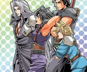 and, cloud strife, and fan art image