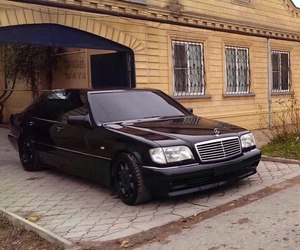 mercedes, s class, and w140 mercedes image