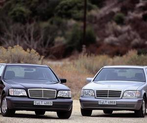 mercedes, s class, and mercedes benz image