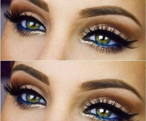 eyes, green, and olive green image