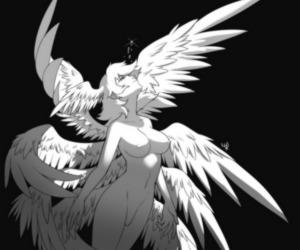 angel, anime, and Devil image