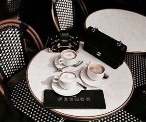 coffee, cafe, and purse image