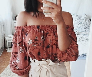 aesthetic, fashion, and off the shoulder image
