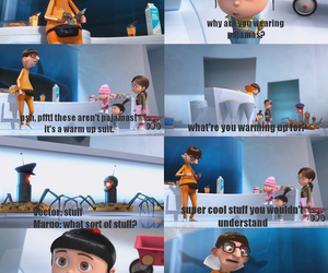 despicable me, funny, and agnes image