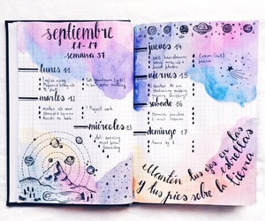art, drawing, and planner image