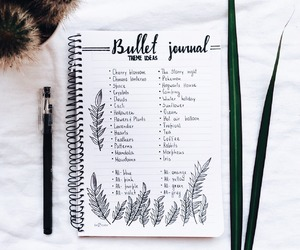 bj, bullet, and diary image