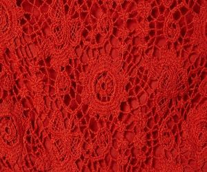 red, lace, and texture image