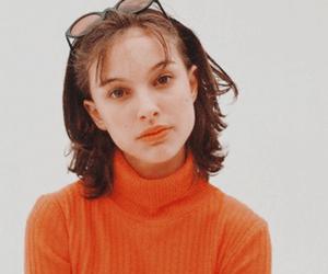 90s, natalie portman, and orange image