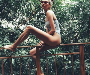 elsa hosk, vacation, and jungle image