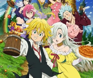 nanatsu no taizai and seven deadly sins image