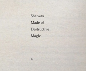 destruction, magic, and quotes image