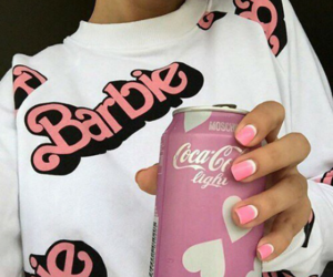 pink, barbie, and tumblr image