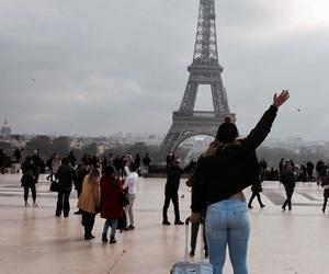 eiffeltower, paris, and traveling image