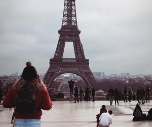 paris, traveling, and eifeltoren image