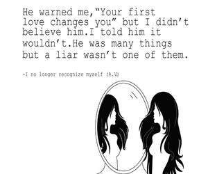 liar, poem, and quote image