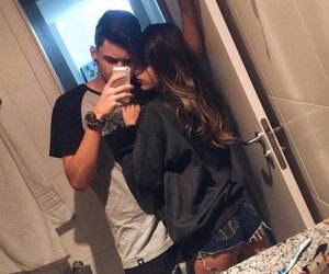beautiful, couples, and girl image
