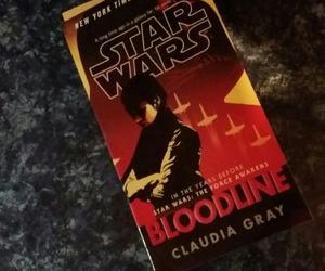 novel, star wars, and bloodline image