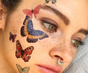 aesthetic, art, and tattoo image