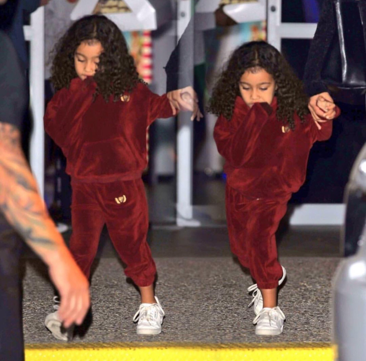 kids, north west, and outfit image
