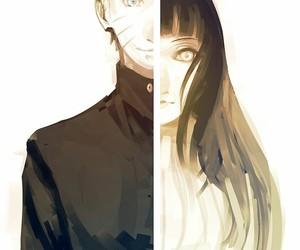 naruto, anime, and hinata image